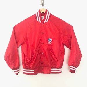 Vintage 1980s Walt Disney World Epcot Jacket Large